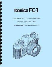 Konica FC-1 Service and Repair Manual Reprint