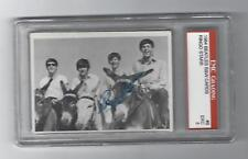Ringo Starr 1964 Beatles B&W Graded Card, # 8, EMC Grading EXC - 5