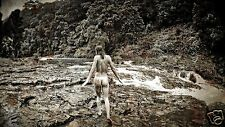 "STREAM WALKER - Art Nude Original - Private Collection - Signed 24"" (US Release)"
