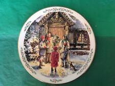 "Royal Doulton Family Christmas Carolling 1989 8.25"" Across"