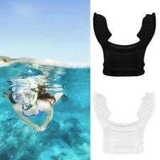 Silicone Diving Equipment Transparent Mouthpiece Snorkel Scuba E4F0 Tube B1S3