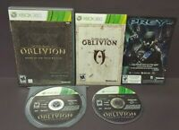 Oblivion Game of Year Elder Scrolls  Microsoft Xbox 360 Complete Game - Tested !