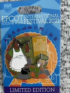 Disney Epcot Robin Hood Food and Wine Festival 2021 & Pin LE Robinhood