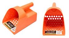 Tough Durable Orange Plastic Metal Detector Scoop Beach-Sand-Gold-Treasure-Rings