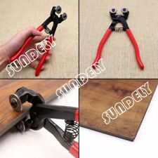 Heavy Duty8INCH Stained Mosaic Glass Cutter Nipper Tile Wheeled Plier Tool Stock