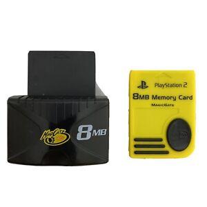 Mad Catz Black Sony PlayStation 2 Memory Card Expander 8MB + MagicGate Mem Card