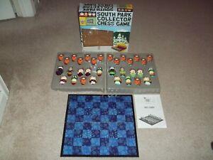 Rare South Park Collector Chess Game Set Comedy Central 2004 Cardinal #92971 EUC