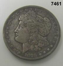 1878 CC MORGAN SILVER DOLLAR VF! KEY! #7461