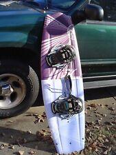 """New listing Hobie 54"""" Water Ski Wakeboard w Bindings"""