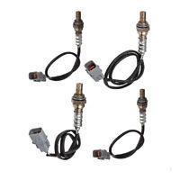 4pcs Oxygen O2 Sensor 1 Sensor 2 Bank 1 & 2 for 2002-2006 Hyundai Santa Fe 2.7L