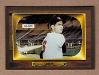 Rocky Colavito Indianapolis Indians '55 Color TV series #416 future star NM cond
