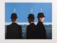 René Magritte - The Mysteries of the Horizon (signed & numbered lithograph)