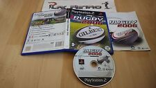 PLAY STATION 2 PS2 RUGBY CHALLENGE 2006 COMPLETO PAL ESPAÑA