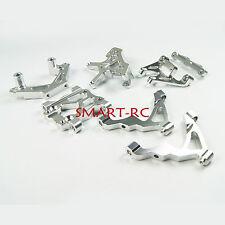 Silver Aluminium Front parts Bulkhead Shock Tower for hpi rovan baja 5b Smart
