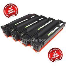 4pk Compatible CF400A CF401A CF402A CF403A Toner For 201A Laserjet M252dw M277dw