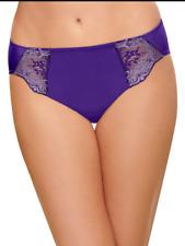 Wacoal L 7 841257 Violet Indigo Lace Impression Hi-cut Brief Panty