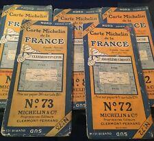 Carte routière MICHELIN - années 20