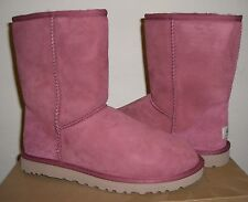 UGG Classic Short 5825 SAGR (Sangria) US 8 *AUTHENTIC*