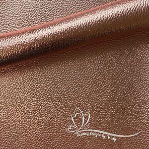 A4 20x30cm  Rose Gold Metallic Faux Leather Sheet