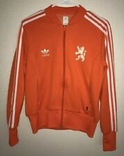 Adidas Netherland Holland Track Top Jacket Women's Size L (USA) 18 (UK)
