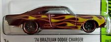 Hot Wheels 2015 HW Workshop '74 Brazilian Dodge Charger Heat Fleet 1974 Mopar