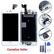 iPhone 6S 4.7 White LCD Touch Digitizer Glass Screen Assembly Home Button Camera
