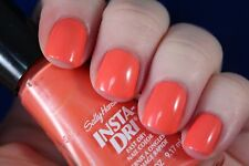 NEW! SALLY HANSEN Nail Polish Lacquer in SNAPPY SORBET #460 Fresh Coral