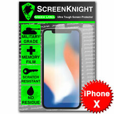 ScreenKnight Apple iPhone X SCREEN PROTECTOR Military Shield
