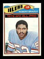 1977 Topps #240 Robert Brazile NM/NM+ Oilers 505507