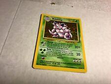1999 WOTC Pokemon NidoKing -  Card #11/102 Base Set - Hologram - Near Mint