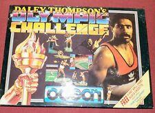 Daley Thompson challenge  Sinclair Zx  Spectrum cassettes X2 inc audio tape