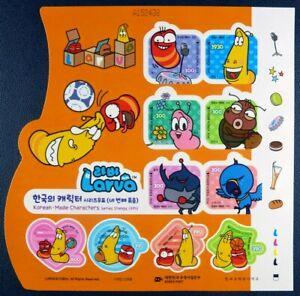 Korea Süd 2014 Comics Trickfilm-Figuren Animationsfilm IV 2976-85 Kleinbogen MNH
