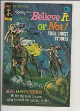 RIPLEY'S BELIEVE IT OR NOT #35  GHOST STORIES BRONZE AGE GOLD KEY COMICS 1972