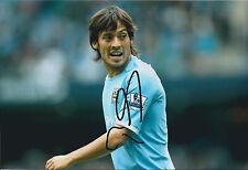David SILVA Signed Autograph 12x8 Photo AFTAL COA Spain Man City RARE Genuine