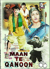 MAAN TE QANOON -(PUNJABI) NEW ORIGINAL LOLLYWOOD  DVD – FREE UK POST