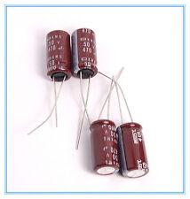 (4pcs) 470uf 50v Radial Electrolytic Capacitors 50v470uf ( Upgrade 35v470uf )