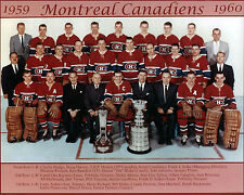 Montreal Canadiens 1959-60 Championship Team Photo
