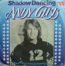 "7"" 1978 KULT ! ANDY GIBB : Shadow Dancing  // VG+ \"