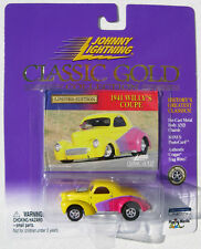 JOHNNY LIGHTNING R7 CLASSIC GOLD 1941 WILLY'S COUPE