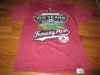 100th ANNIVERSARY FENWAY Park BOSTON RED SOX (MED) T-Shirt