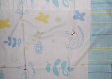 Ikea Vilda Hund Pastel Hound Dog Flowers Kids Tab Top Curtain Drapery Panel