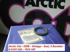 Arctic Cat Snowmobile Dropcase Seal # 0107-252 Vintage '74 VIP
