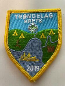 Boy Scout - Norway NSF Trøndelag Krets badge