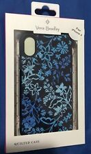 Brand New Vera Bradly Quilted Case for Apple iPhone X - Blue
