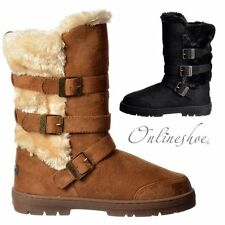 Patternless Faux Suede Pull On Formal Boots for Women