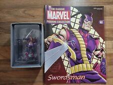 More details for swordsman #182 classic marvel figurine eaglemoss & magazine
