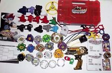 Beyblade Takara Tomy Metal Fusion 2X Duotron Master Rip cords Launchers & more