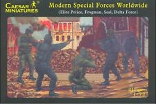 Caesar Miniatures H061 Modern US Special Force 1/72 Plastic Scale Model Kit