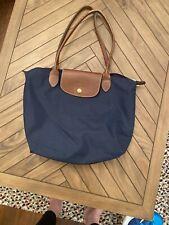 Longchamp bag. Le Pliage. Navy. Medium. £15