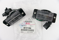 2x Genuine Mitsubishi Rear Licence Number Plate Lamp MR191460 Mitsubishi L200